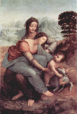 Virgin and Child with St. Anne - DA VINCI