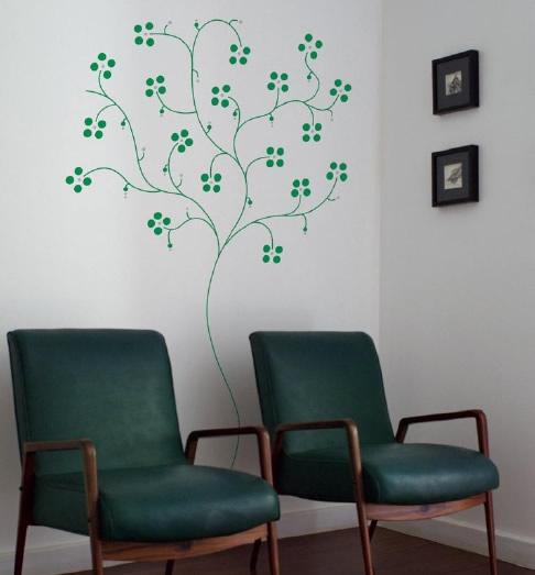 Adesivos de parede versos aten o este blog mudou - Decorar paredes facil ...